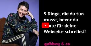 5 Tipps für deine Webseite