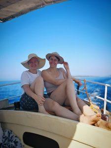 Bianca Gabbey und Barbara Jascht