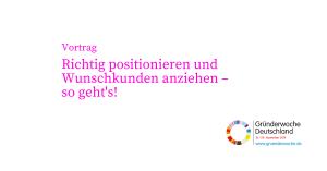 Gründerwoche_Vortrag_Bianca Gabbey