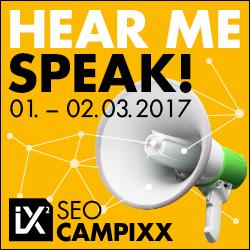 Vortrag SEO-Campixx